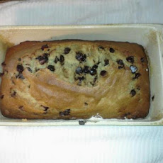 Simple Banana Chocolate Chip Bread