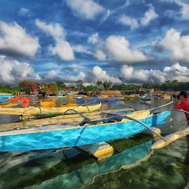 Pro Dave by Ferdinand Ludo - Transportation Boats ( mactan, fleet of boat pictures, cordoba, pro photographer )