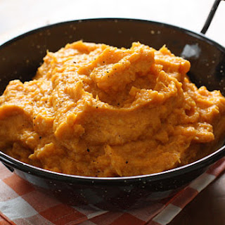 Garlic Sweet Potato Mash