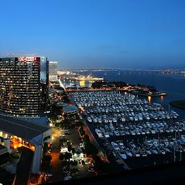 The awe-inspiring San Diego Bay by Jeet Kumar - City,  Street & Park  Skylines