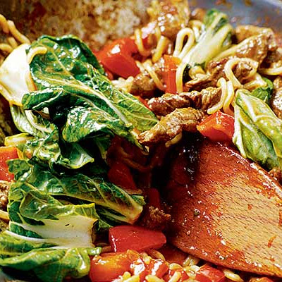 10-minute Steak & Noodle Supper