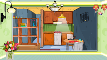 Screenshot of Cartoonic House Escape