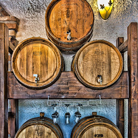 wine barrels by Vibeke Friis - Food & Drink Alcohol & Drinks ( barrels )