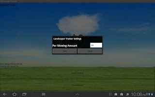Screenshot of Landscaper Tracker