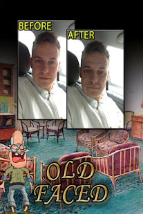 OldFaced Old Age Face Booth - screenshot