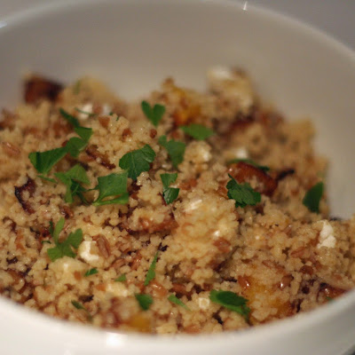 Winter Couscous and Bulgur Salad