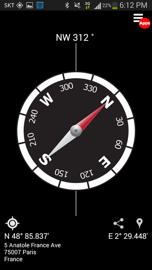 Compass - PRO Screenshot 0