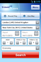Screenshot of Travelup