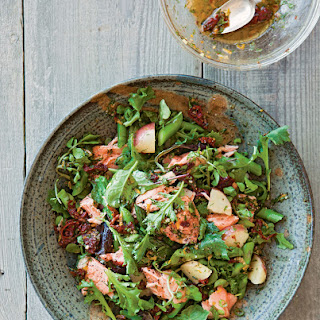 Salmon, Potato & Asparagus Salad