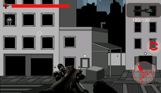 Stick Man Kill Shoting - screenshot