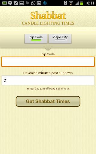 Shabbat Alerts