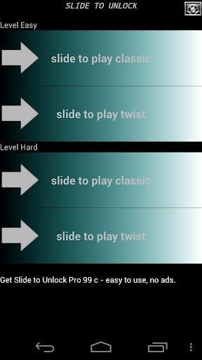 Slide to Unlock Game Pro