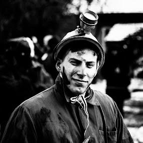 Holer man by Ивайло Цветанов - People Portraits of Men ( miner, pernik, 2015, surva, bulgaria, holer )
