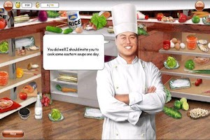 Screenshot of Gourmania