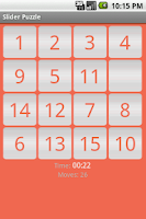 Screenshot of Slider Puzzle