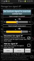 Screenshot of WiFi Priority Lite