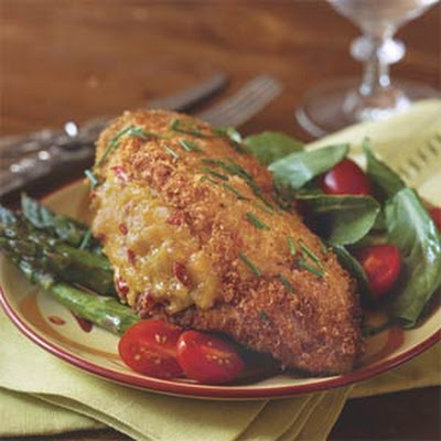 Pimiento Cheese-Stuffed Fried Chicken