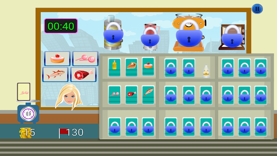 Food Store Games - screenshot