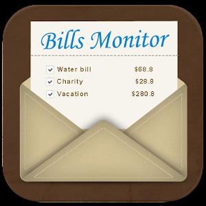 Bills Monitor Reminder For PC / Windows 7/8/10 / Mac – Free Download