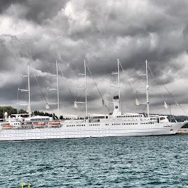 by Petrica Manzala - Transportation Boats