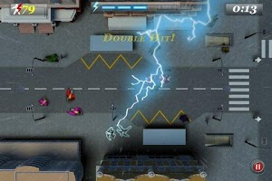 Screenshot of Zeus - Lightning Shooter Pro