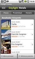 Screenshot of Daylight Hotels