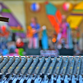 Behind the scenes by Jerrod Edwards - Artistic Objects Musical Instruments ( #colors, #music, #instruments )