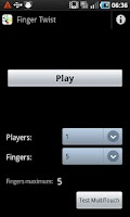 Screenshot of Finger Twist