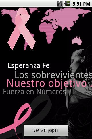 Spanish - Breast Cancer App
