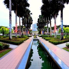 Miri City Fan by Yusop Sulaiman - City,  Street & Park  City Parks