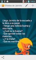 Screenshot of Chistes de Jaimito