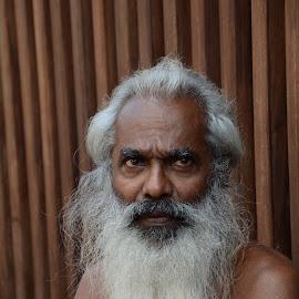 by Sudantha Madurapperuma - People Portraits of Men ( thinking, beard, old man, men, portraits )