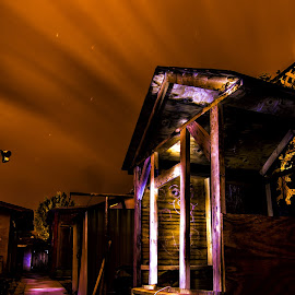 play house by David Bennett - Abstract Light Painting