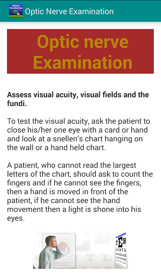 Clinical Examination & Skills Screenshot 19