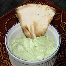 Basil and Feta Cheese Spread