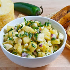 Pineapple and Banana Salsa