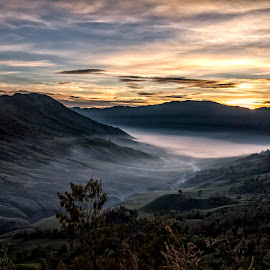 Sunrise in Bromo valley by Agus Sudharnoko - Landscapes Mountains & Hills