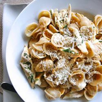 Rosemary Chicken with Whole Wheat Orecchiette