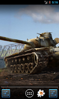 Screenshot of WoT Live wallpaper (T110E5)