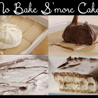 No Bake S'more Cake