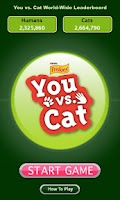 Screenshot of Friskies® You vs. Cat