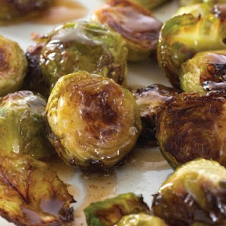 Browned Brussels With Maple Butter From 'Choosing Sides'