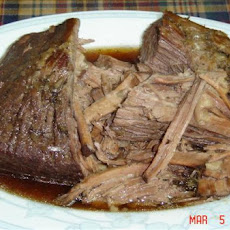 Red Wine Crock Pot Roast