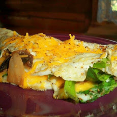 Healthy Omelet on the Run