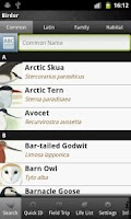 Screenshot of Birder