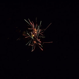 by Heather Decker - Abstract Fire & Fireworks