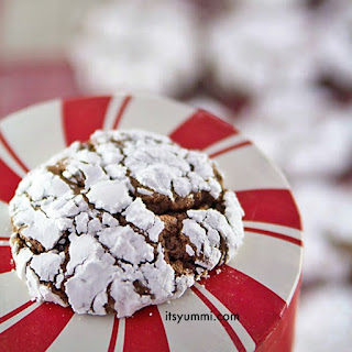 Chocolate Gingerbread Crinkles
