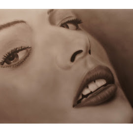 Portrait by Andreas Müller - Painting All Painting ( airbrush, art, painting, portrait )