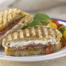 Goat Cheese and Prosciutto Panini
