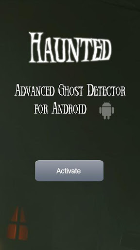 Haunted Ghost Detector